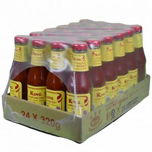 King Kampong Koh Garlic Chilli Sauce 24x320g