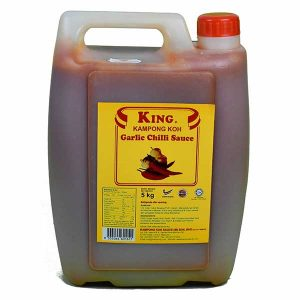 King Kampong Koh Garlic Chilli Sauce 5kg