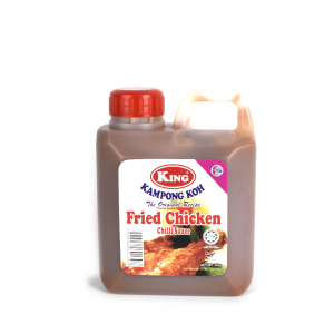 King Kampong Koh Fried Chicken Chilli Sauce 1kg Plastic Bottle