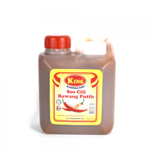 King Kampong Koh Garlic Chilli Sauce 1kg Plastic Bottle