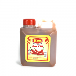 King Kampong Koh Sweet Chilli Sauce 1kg Plastic Bottle